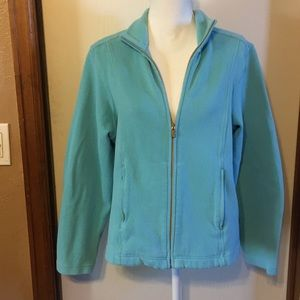 Tommy Bahama light blue cotton jacket, XL